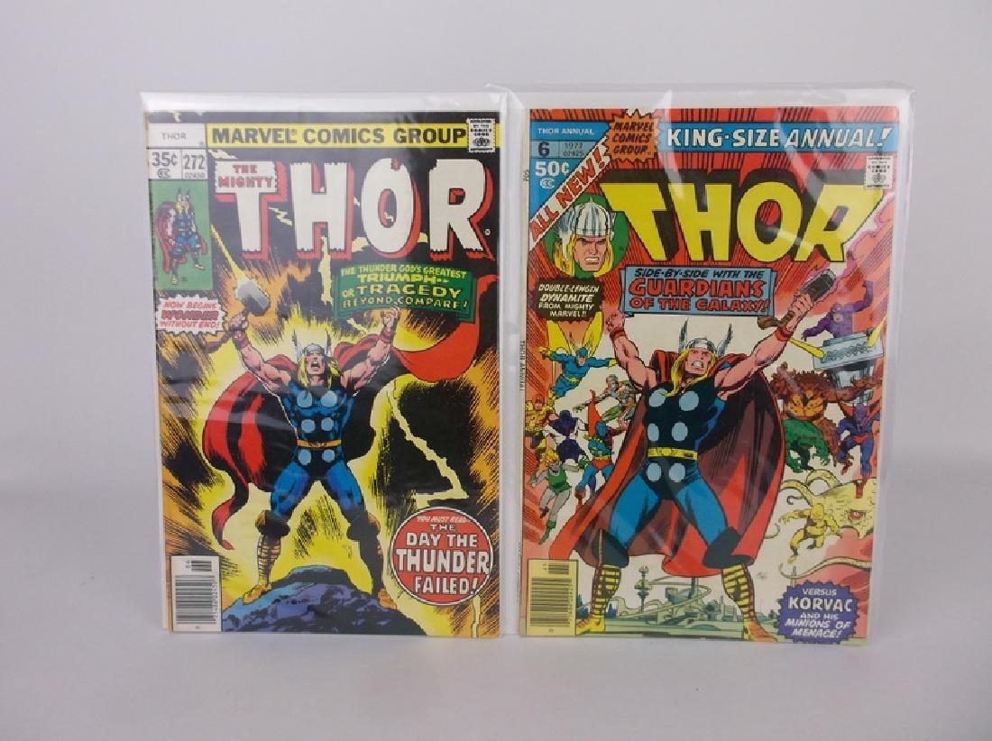 2 1977-78 Thor Comic Books Marvel