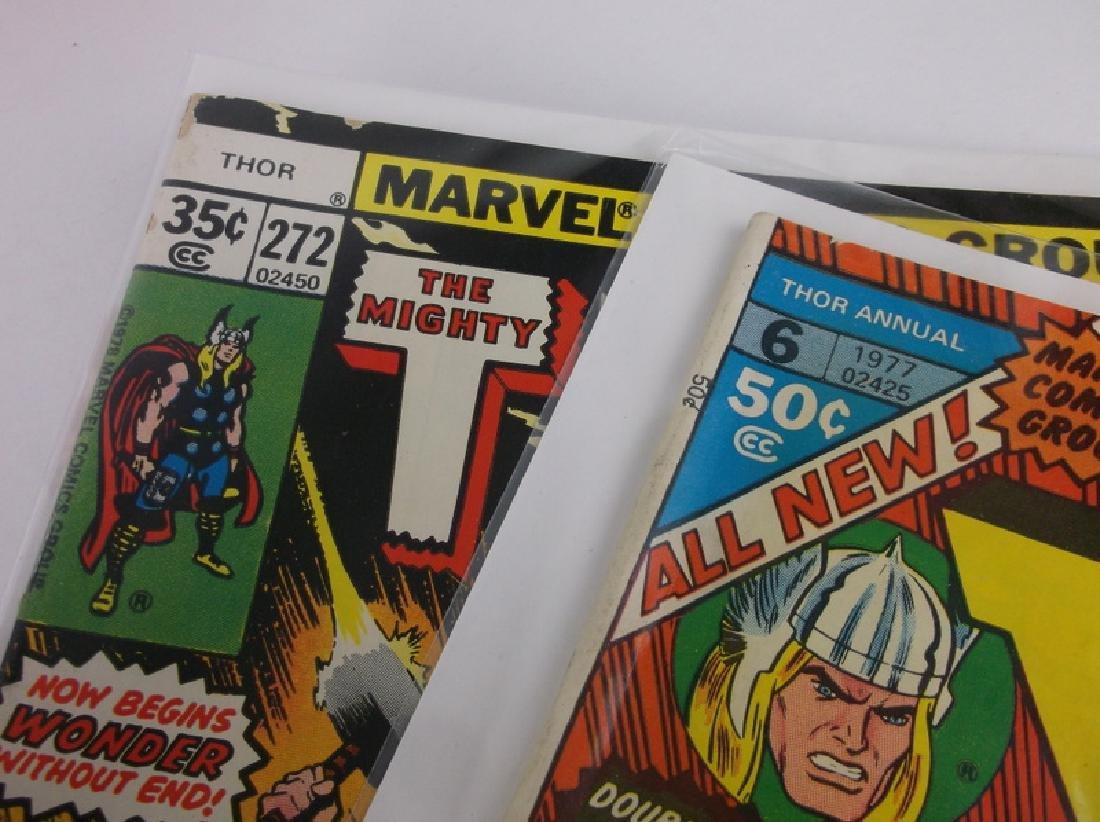 2 1977-78 Thor Comic Books Marvel - 2