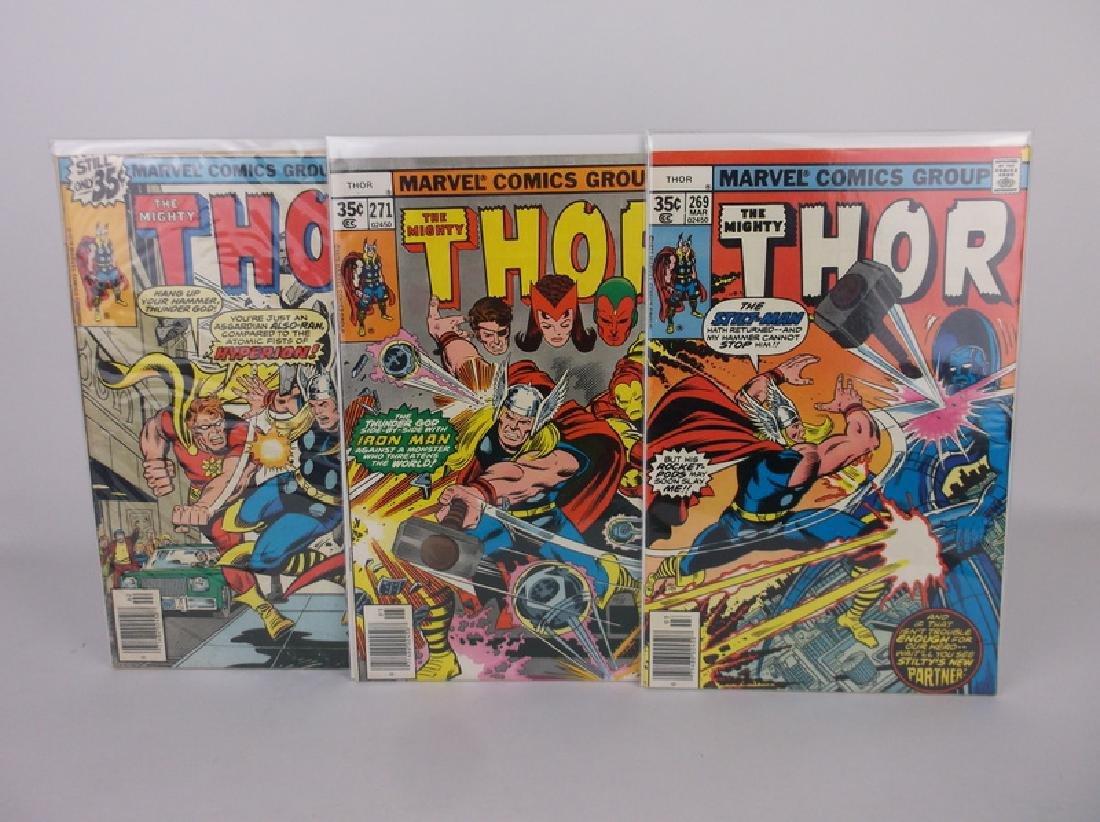 3 Nice 1977-78 Thor Comic Books Marvel