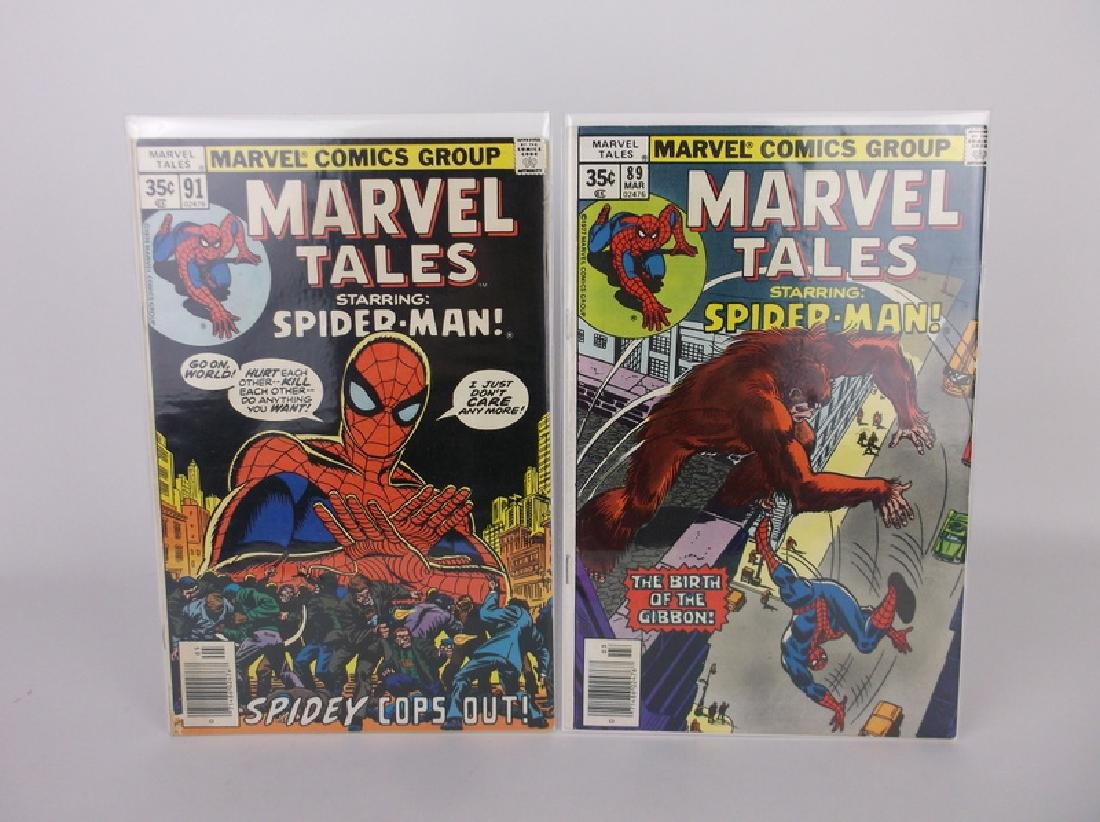 2 Nice 1977-78 Spiderman Comic Books Marvel