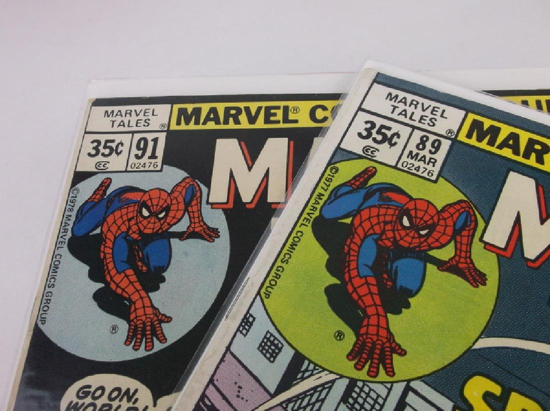 2 Nice 1977-78 Spiderman Comic Books Marvel - 2
