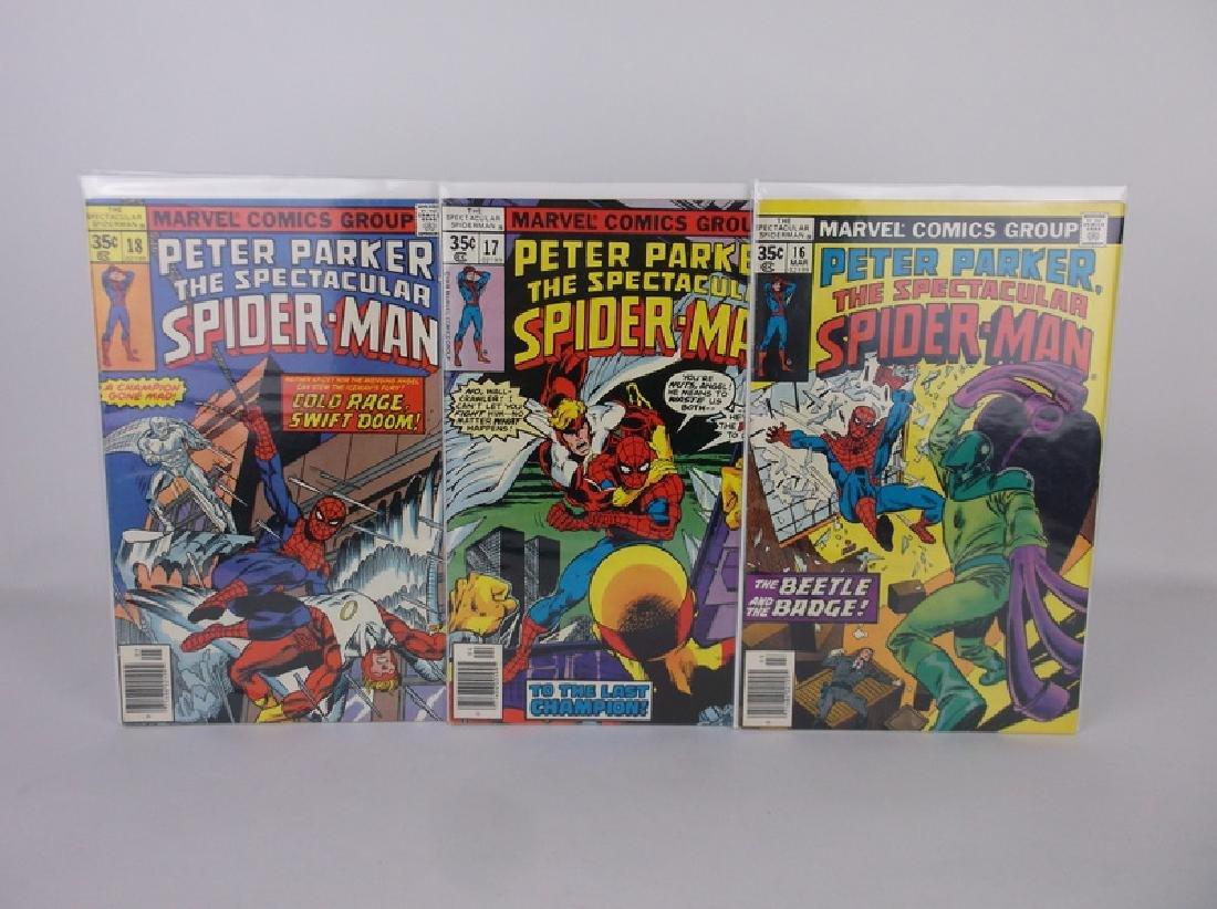 3 Nice 1977-78 Spectacular Spiderman Comics
