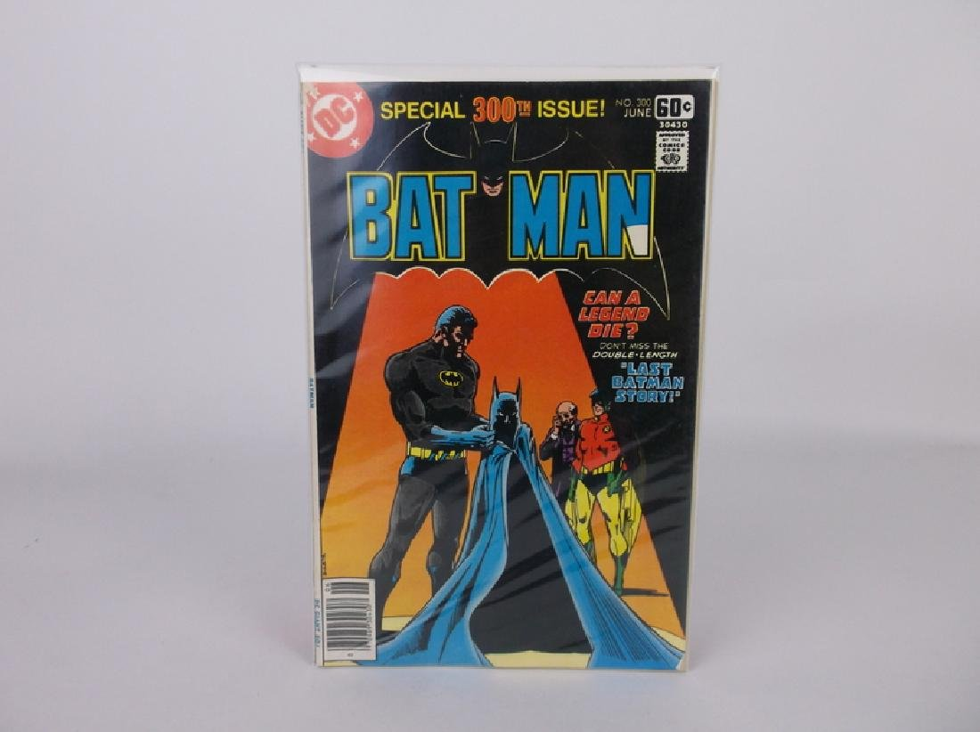 Nice 1978 DC Batman Comic Book #300 Key Issue