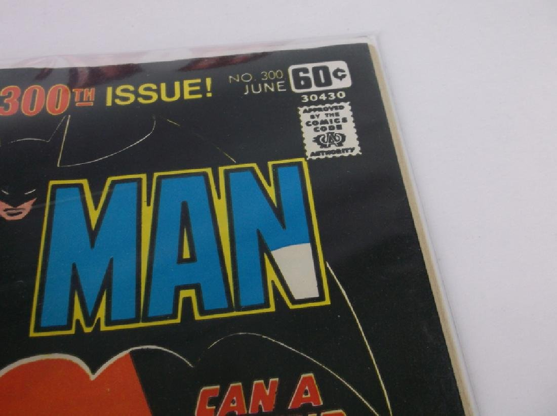 Nice 1978 DC Batman Comic Book #300 Key Issue - 2
