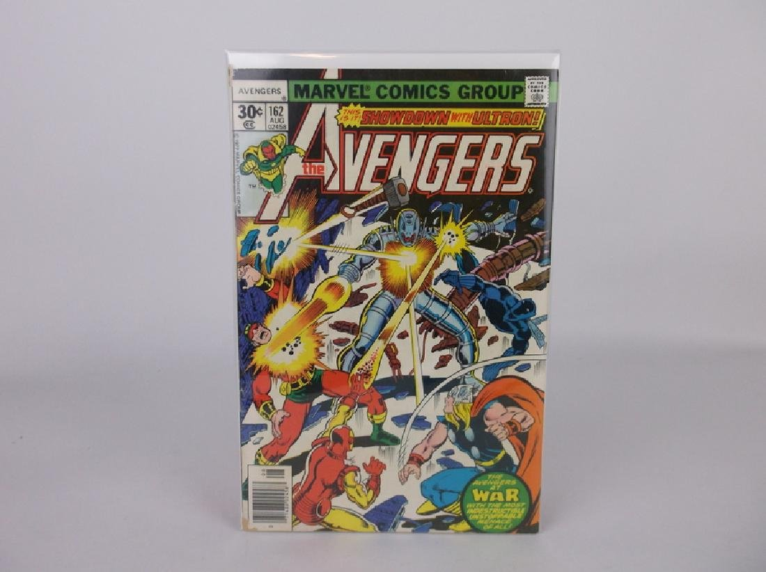 1977 The Avengers Comic Book #162 Ultron Marvel