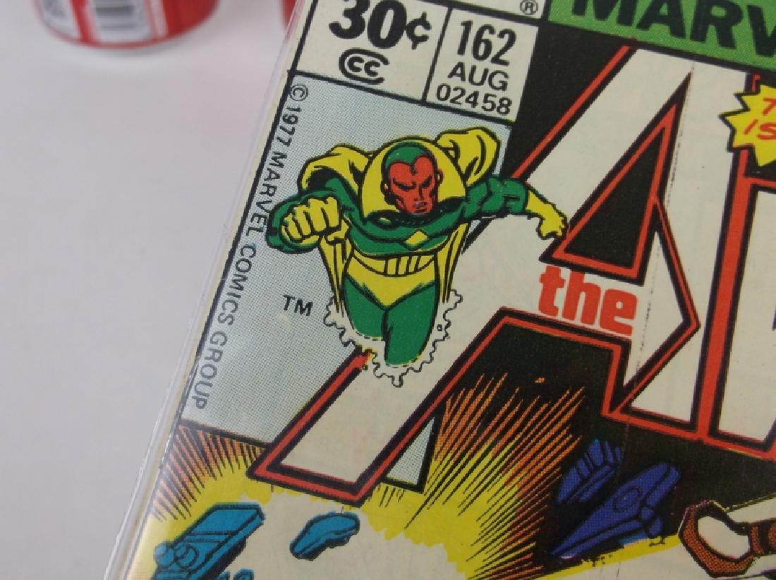 1977 The Avengers Comic Book #162 Ultron Marvel - 2