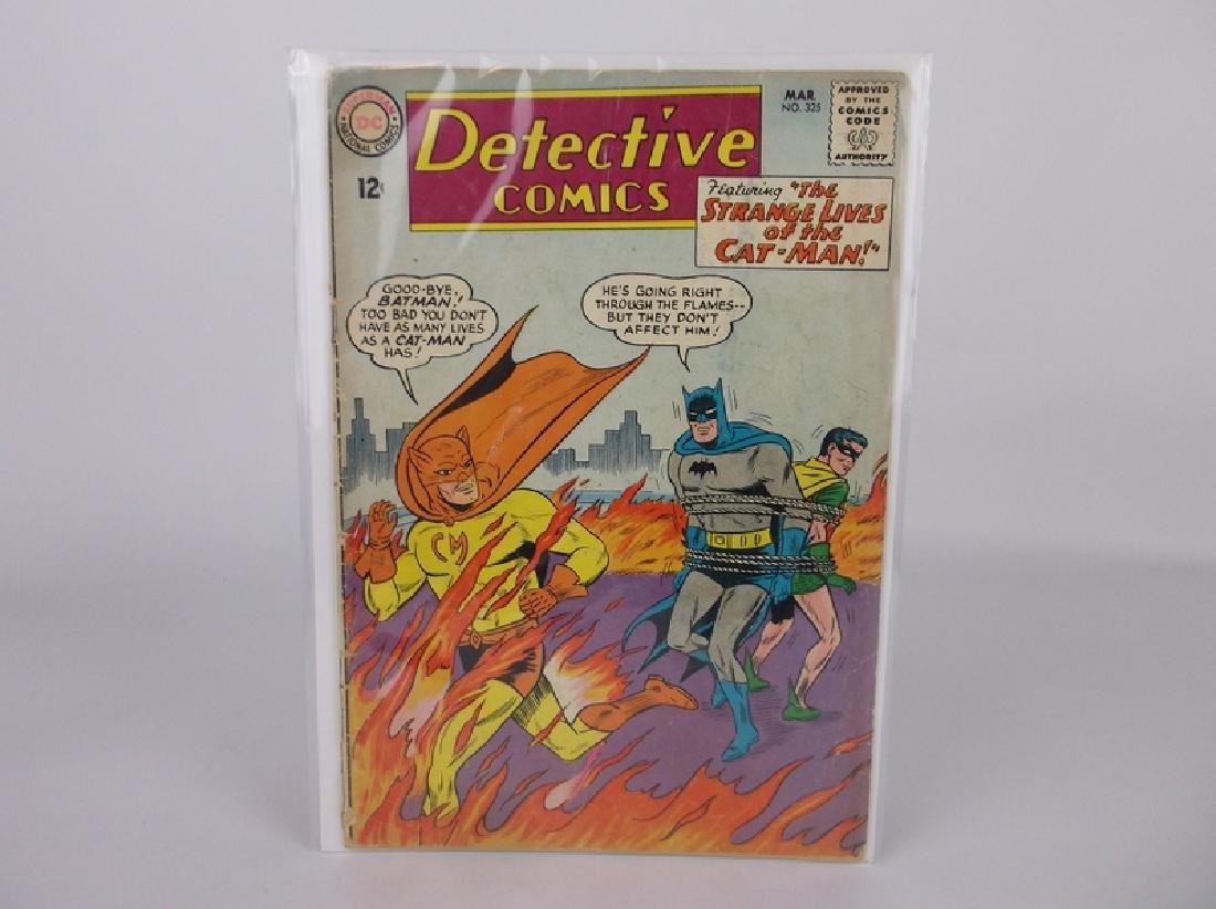 1964 DC Detective Comic Book Batman Catman #325