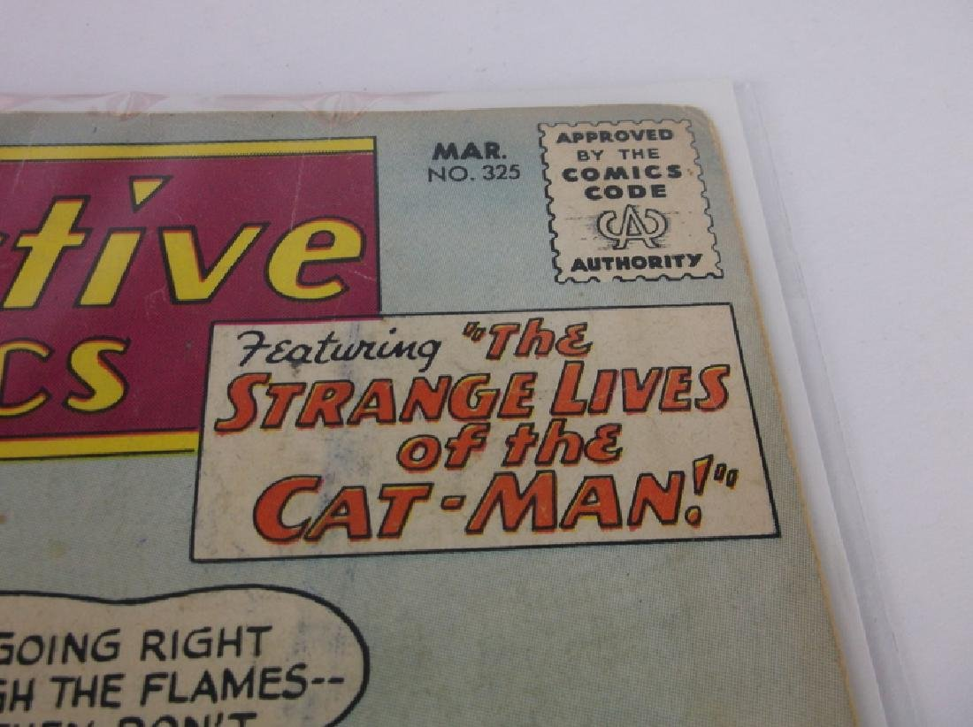 1964 DC Detective Comic Book Batman Catman #325 - 2