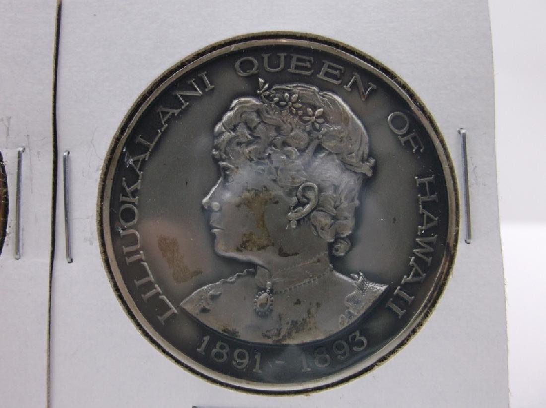 Rare 1966 Hawaii Sterling Bronze Coin Set - 2