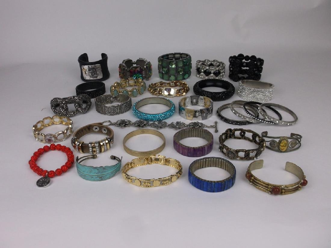 Large Estate Bracelet Collection Southwest More