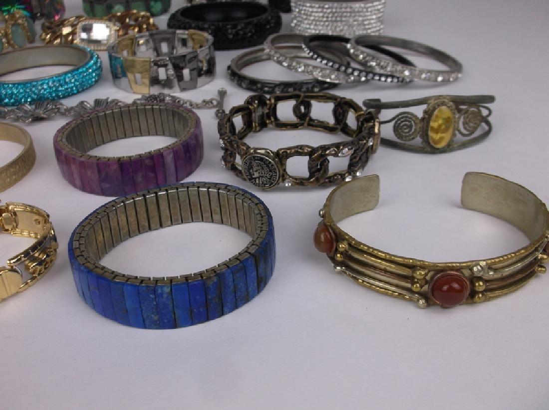 Large Estate Bracelet Collection Southwest More - 2