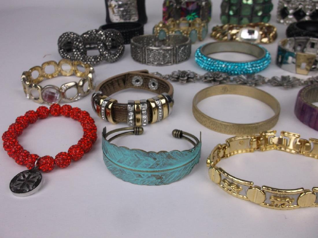 Large Estate Bracelet Collection Southwest More - 4