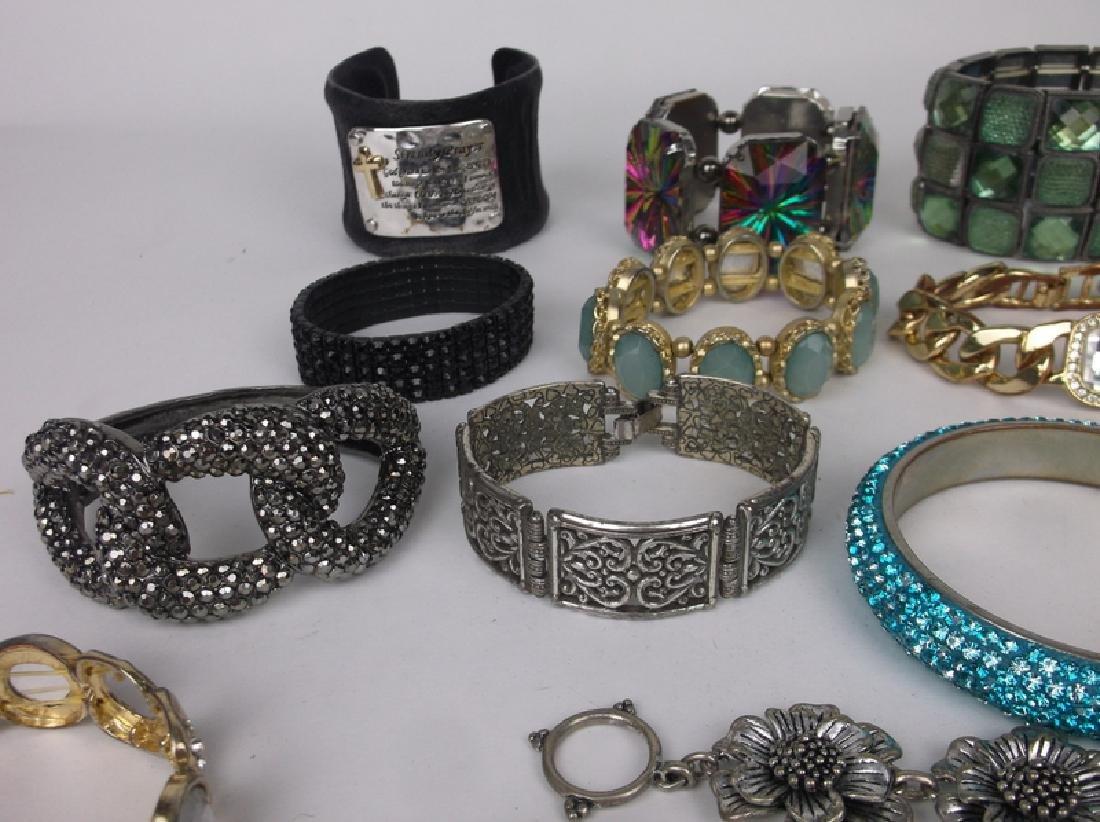 Large Estate Bracelet Collection Southwest More - 5