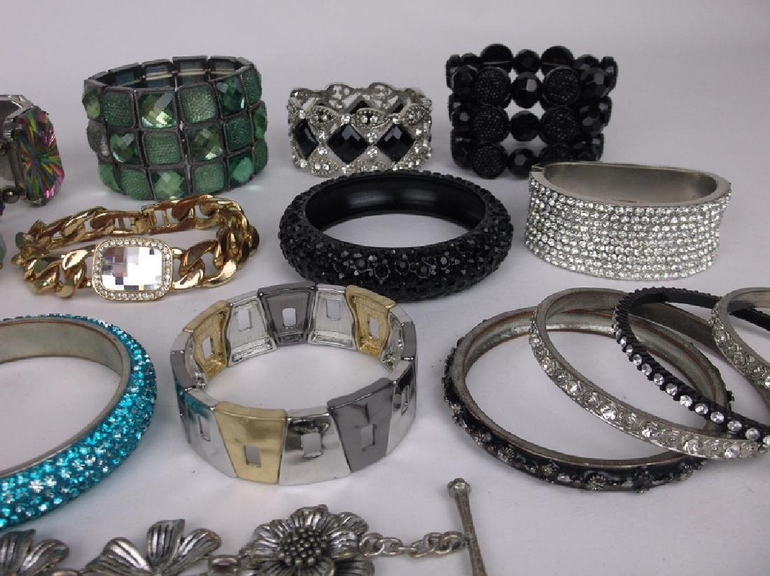 Large Estate Bracelet Collection Southwest More - 6
