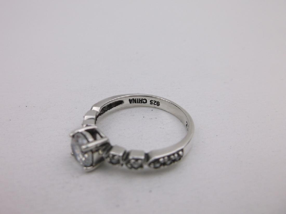 Stunning Sterling Silver Engagement Ring 8 - 2