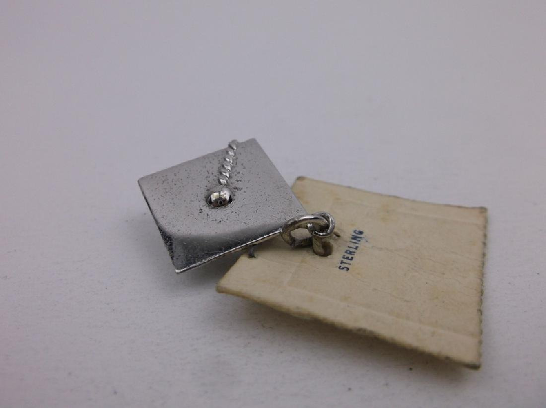 New Old Stock Sterling Graduation Charm
