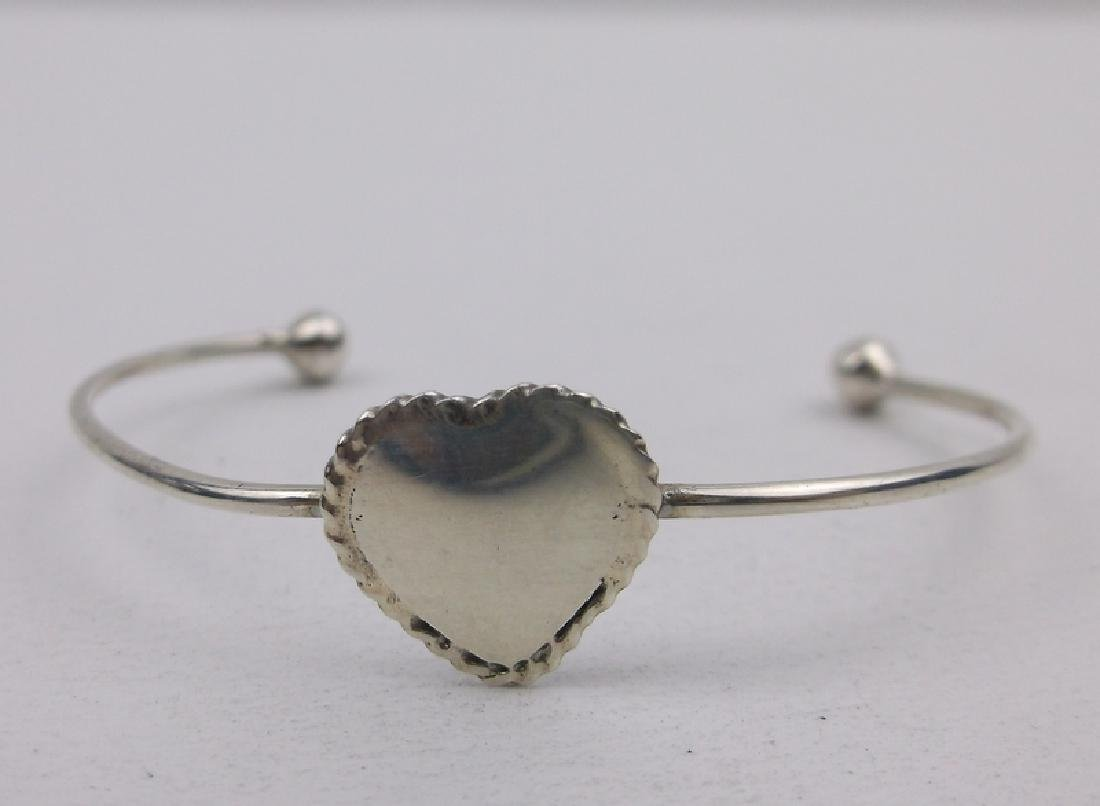 Gorgeous Sterling Silver Baby Cuff Bracelet
