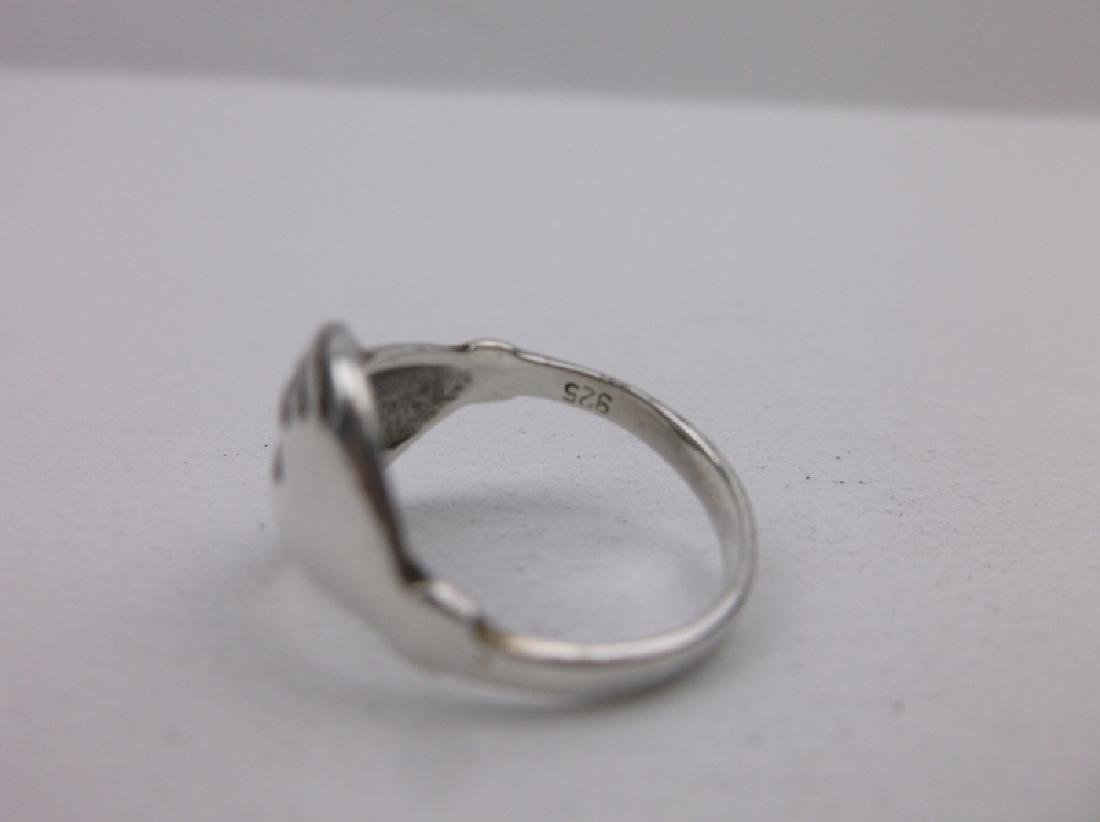 Stunning Sterling Silver Hands Ring 6 - 2