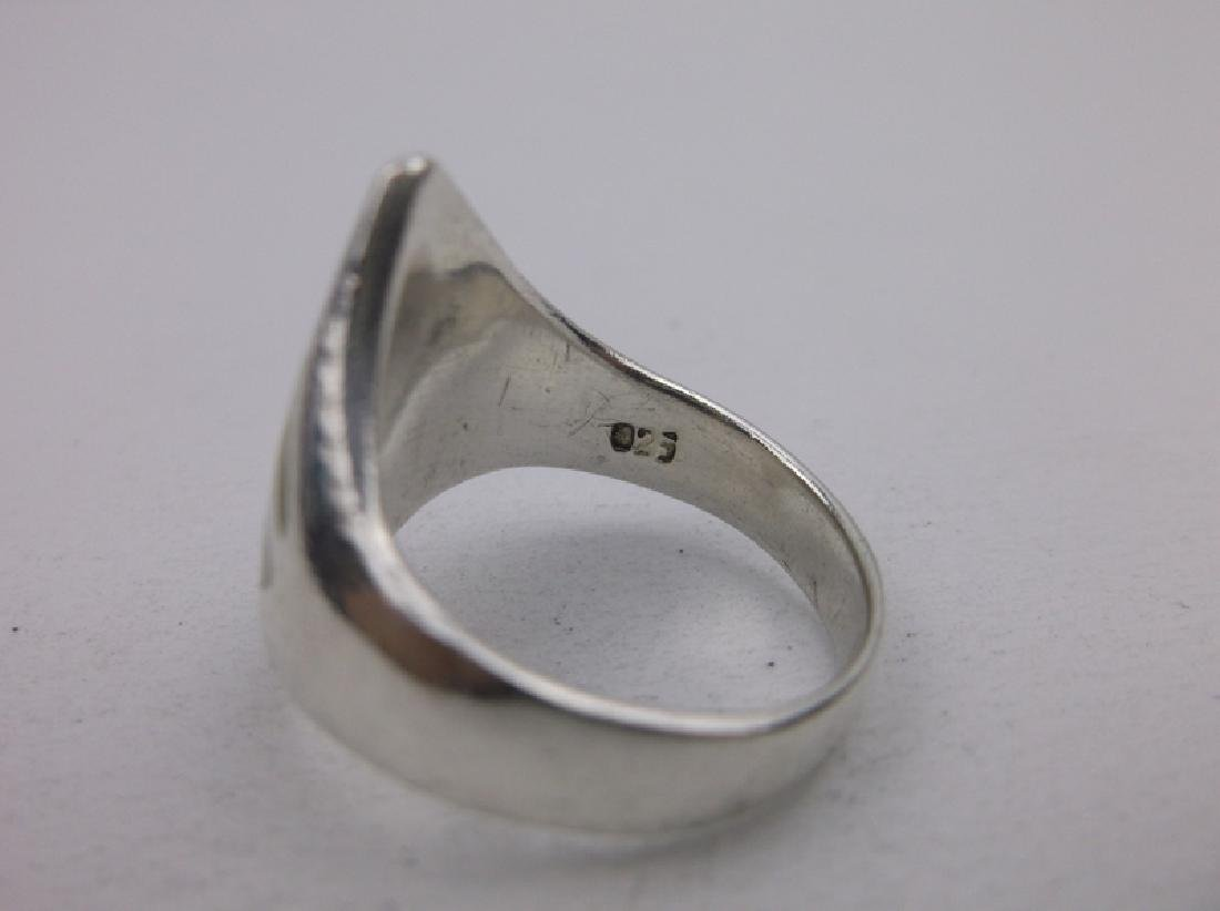 Gorgeous Sterling Silver MOP Ring 6.5 - 2