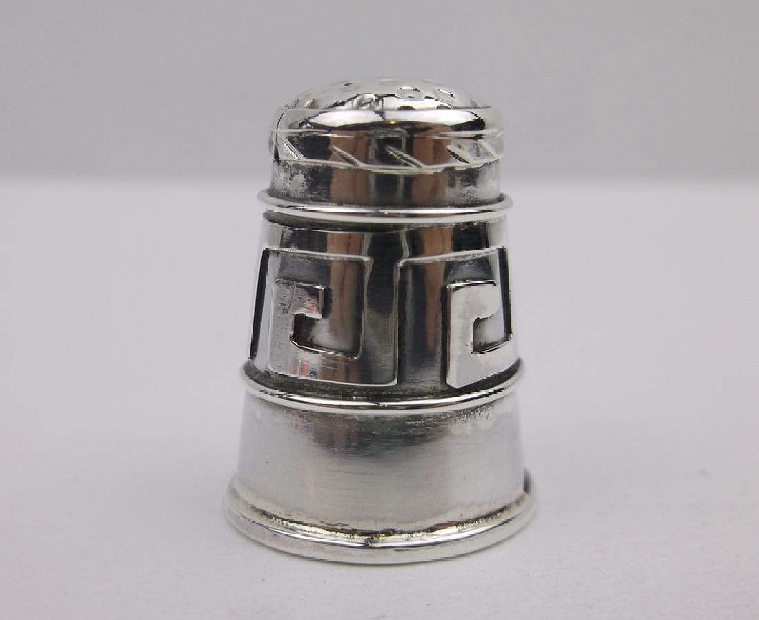 EDH Antique Taxco Sterling Sewing Thimble