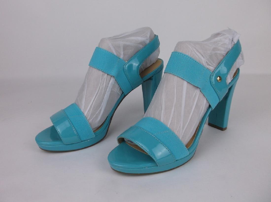 New Liz Claiborne Blue Heels Size 8