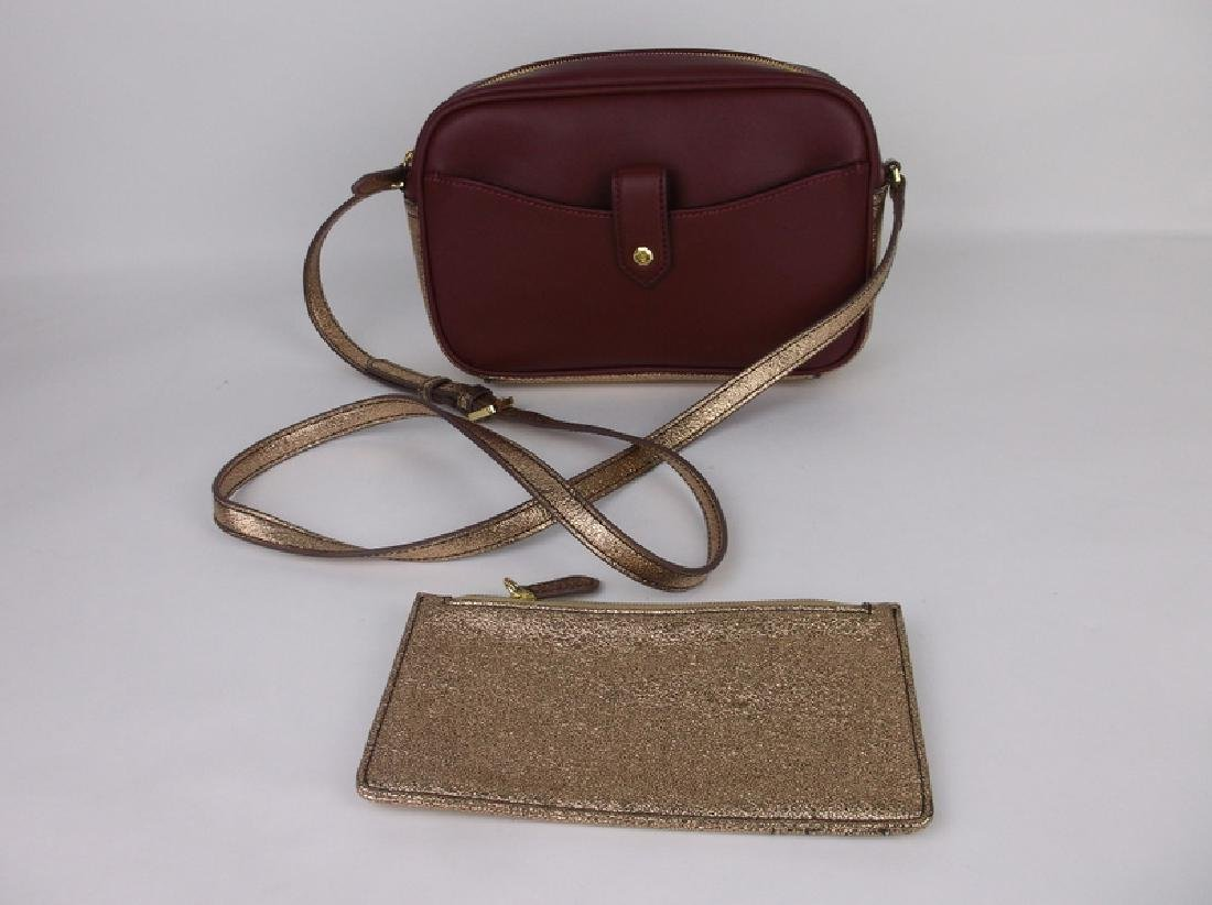 New G.I.L.I Leather Handbag Purse With Wallet
