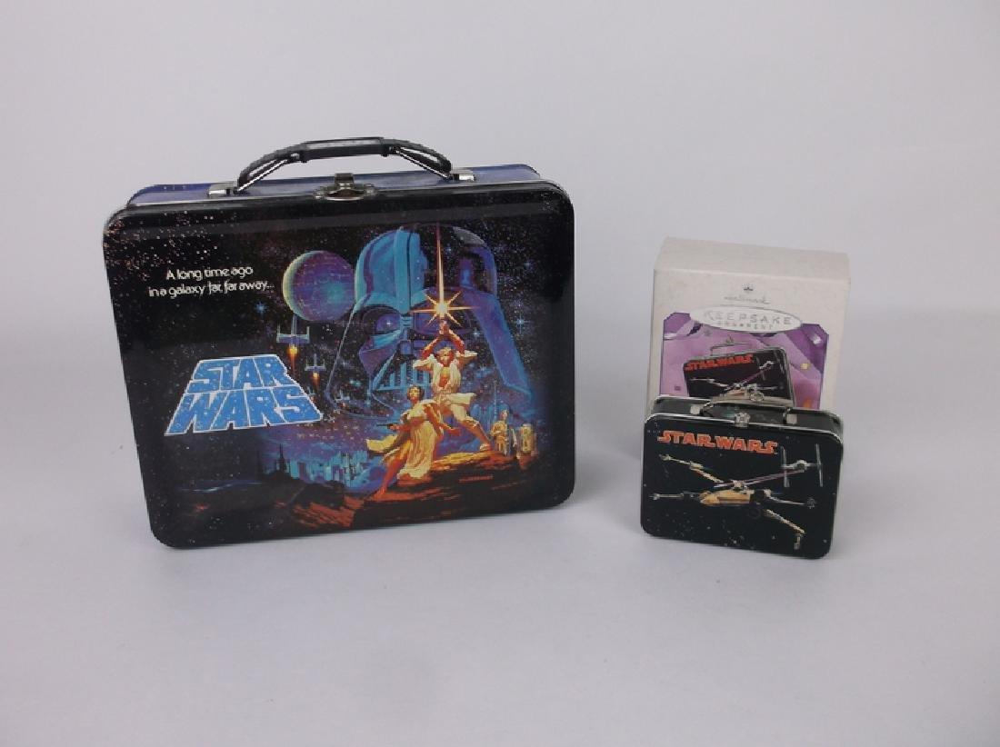 Star Wars Metal Lunchbox Lot of 2