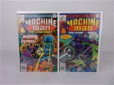 2 Nice 1978 Machine Man Comic Books Kirby #2-3