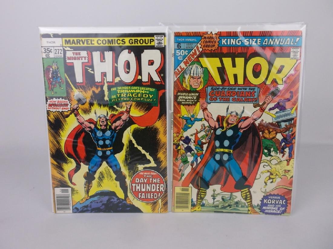 2 1977-78 Thor Comic Books Marvel
