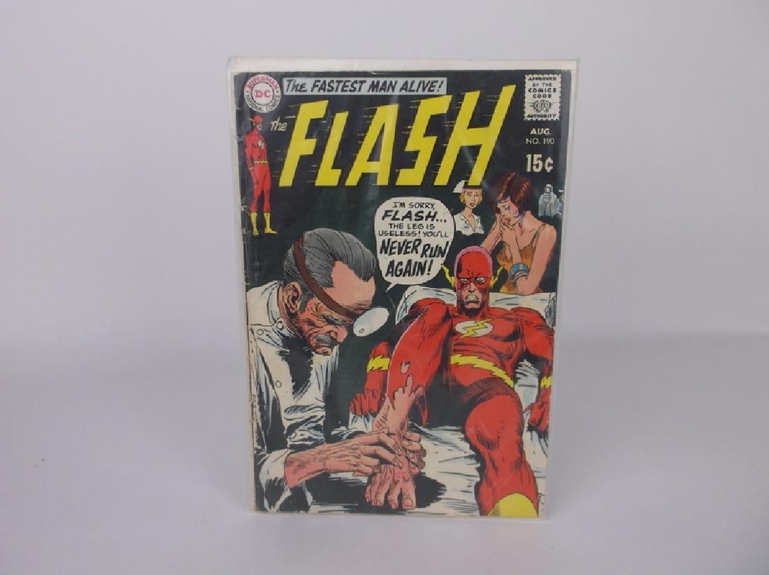 1969 DC The Flash Comic Book #190