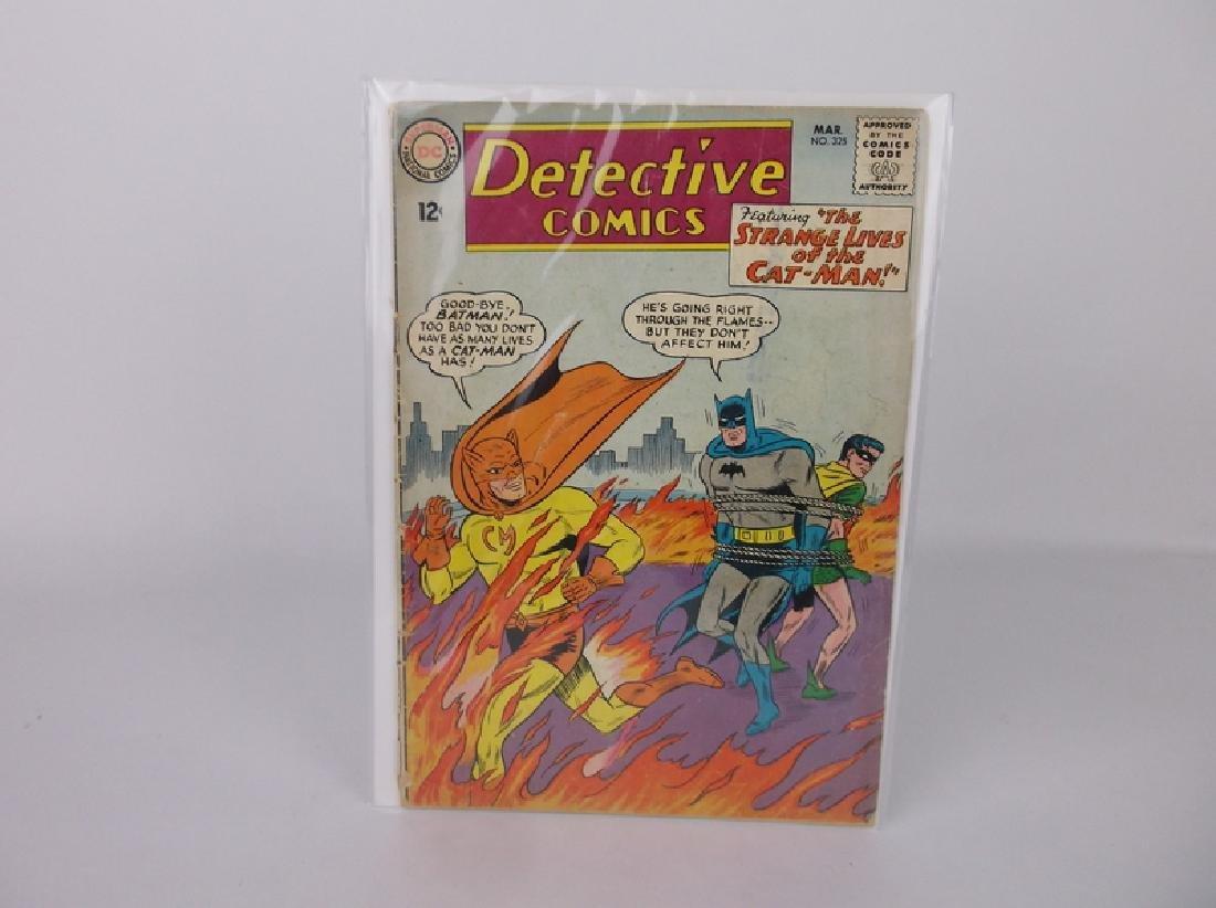 1964 DC Detective Batman Comic Book #325