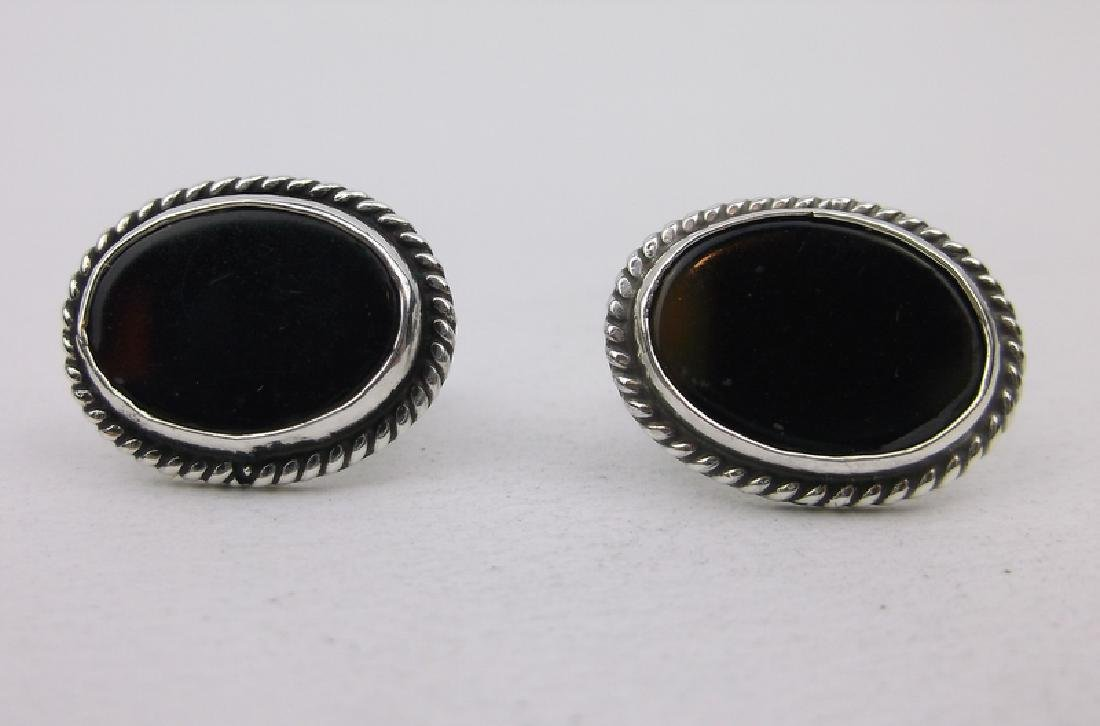 Stunning Sterling Silver Stud Earrings Southwestern