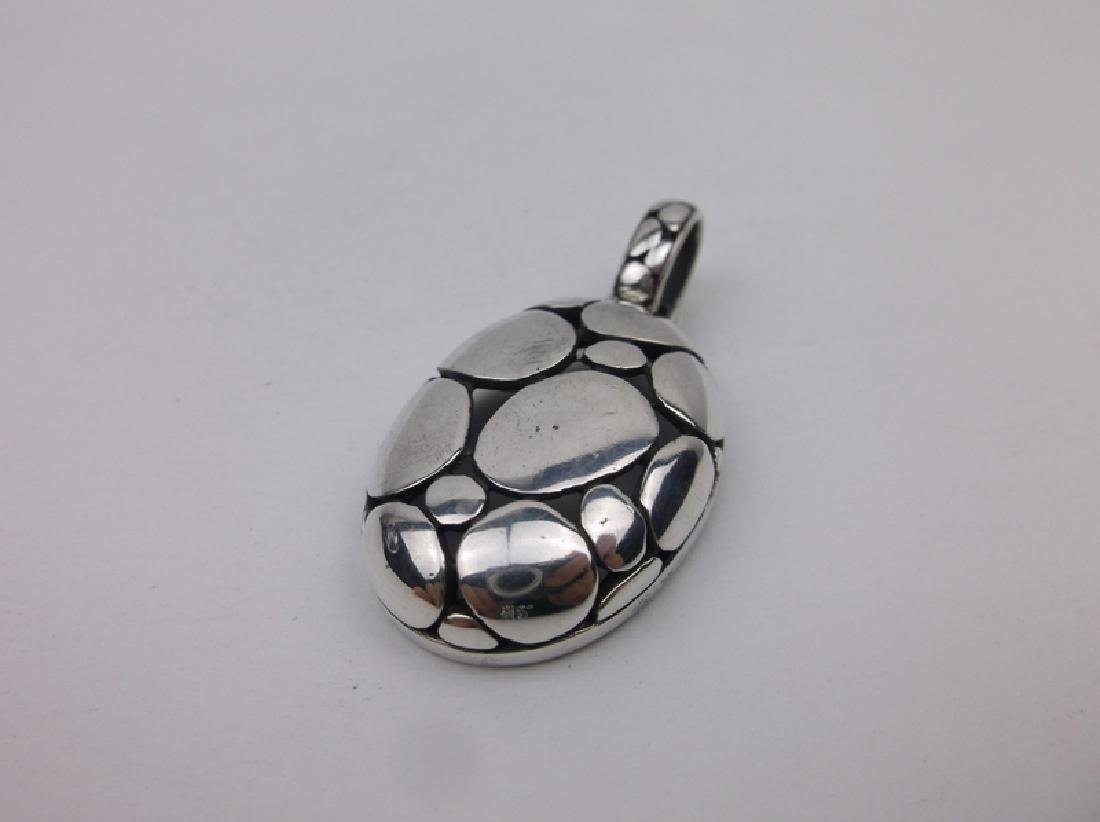 Gorgeous Large Sterling Silver Pendant