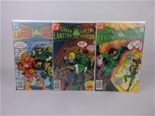 3 Nice 1978 Green Lantern Arrow Comic Books DC