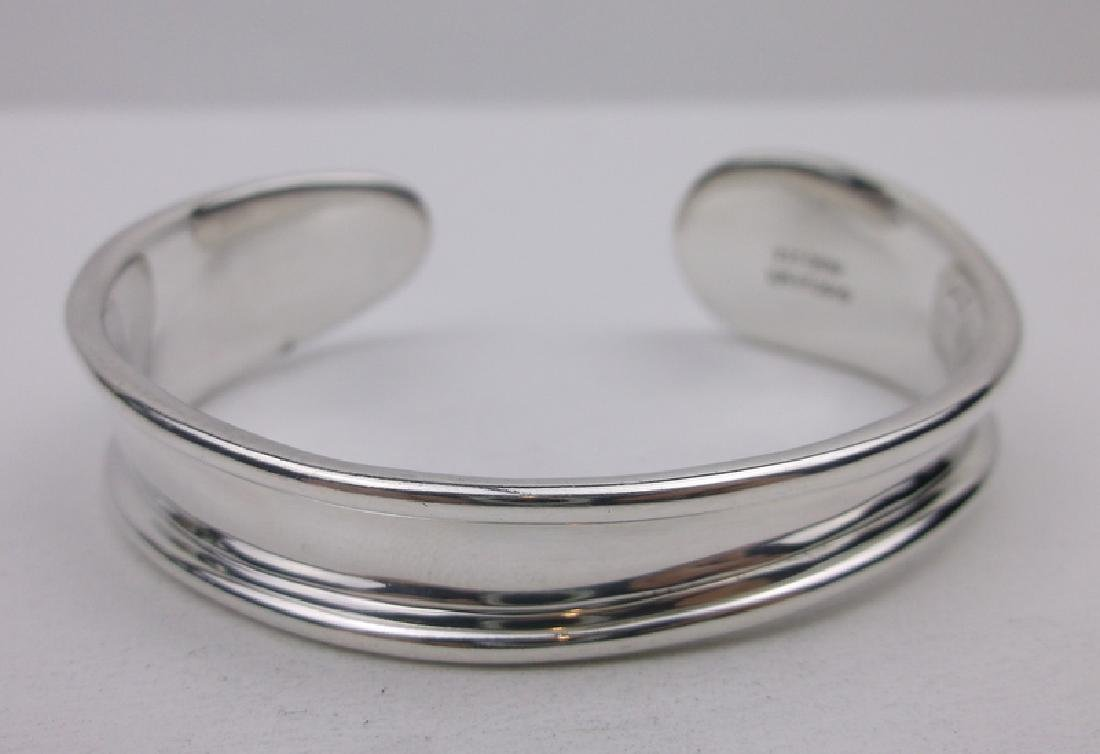 Robert Lee Morris Sterling Silver Cuff Bracelet