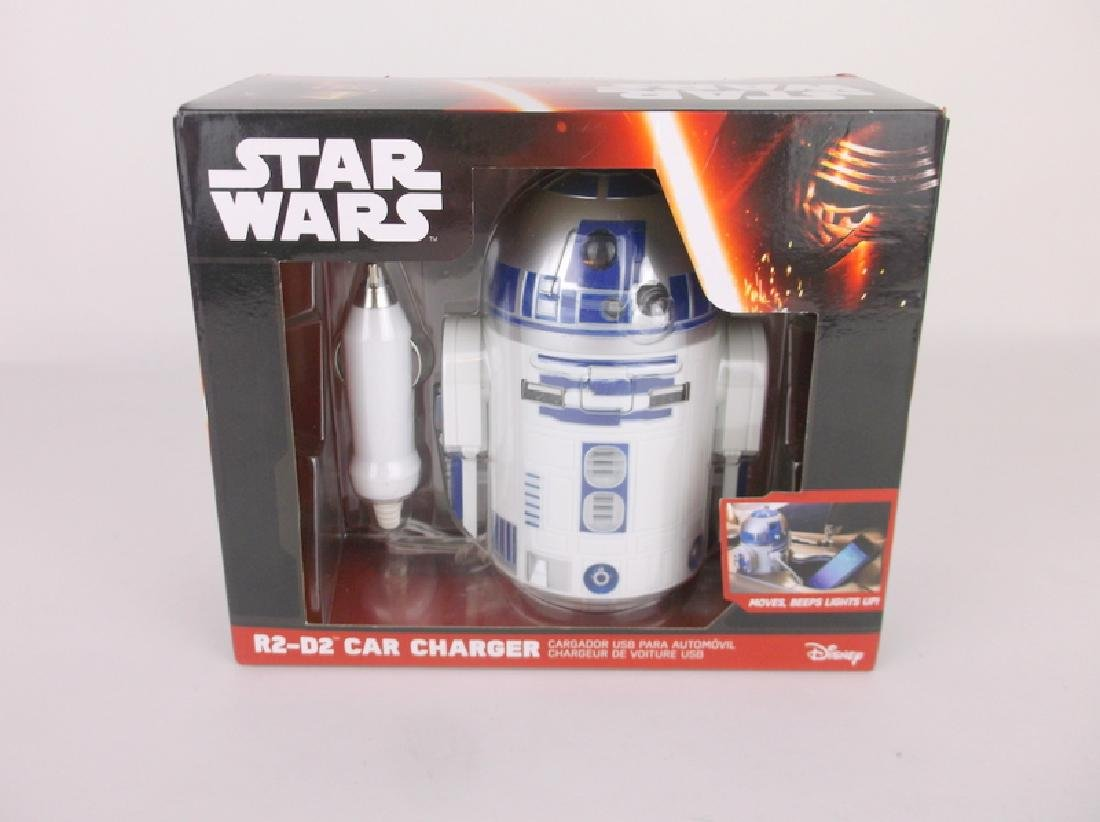 New Disney R2-D2 2x USB Charger In Box