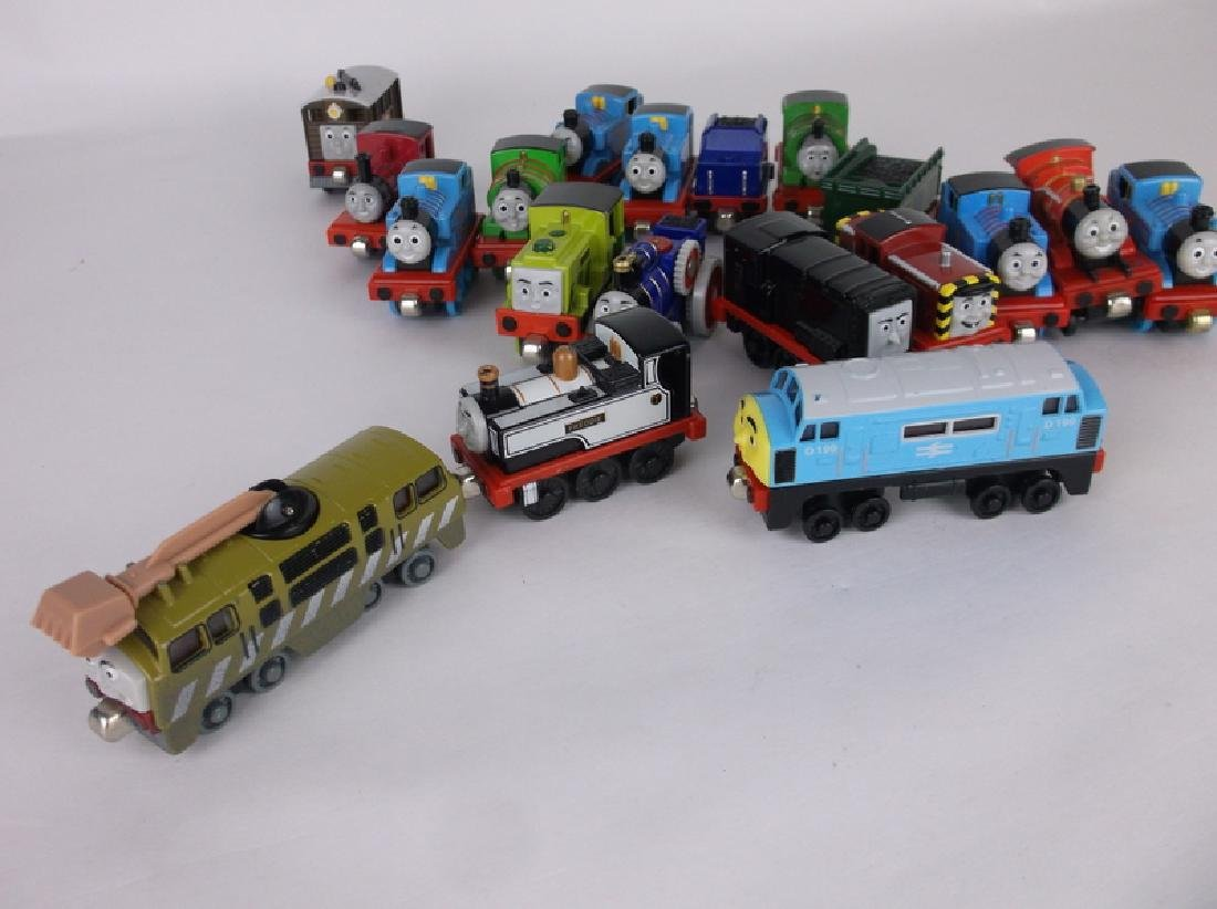 Huge Thomas the Train Engine Die Cast Lot - 12