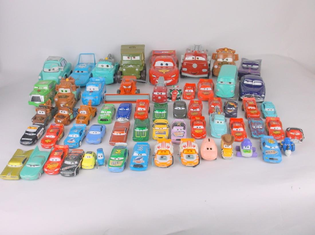 Huge 60 Disney Pixar Cars Lot