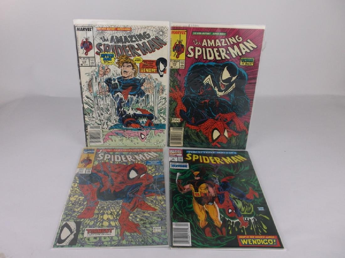 4 Nice McFarlane Spiderman Comic Books Marvel