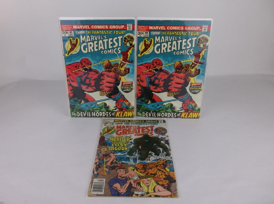 3 1972-78 Marvels Greatest Comic Books