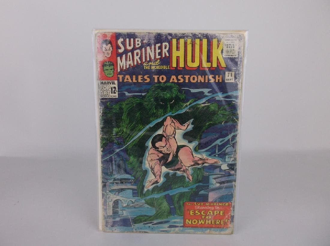 1965 Tales to Astonish Comic Book #71