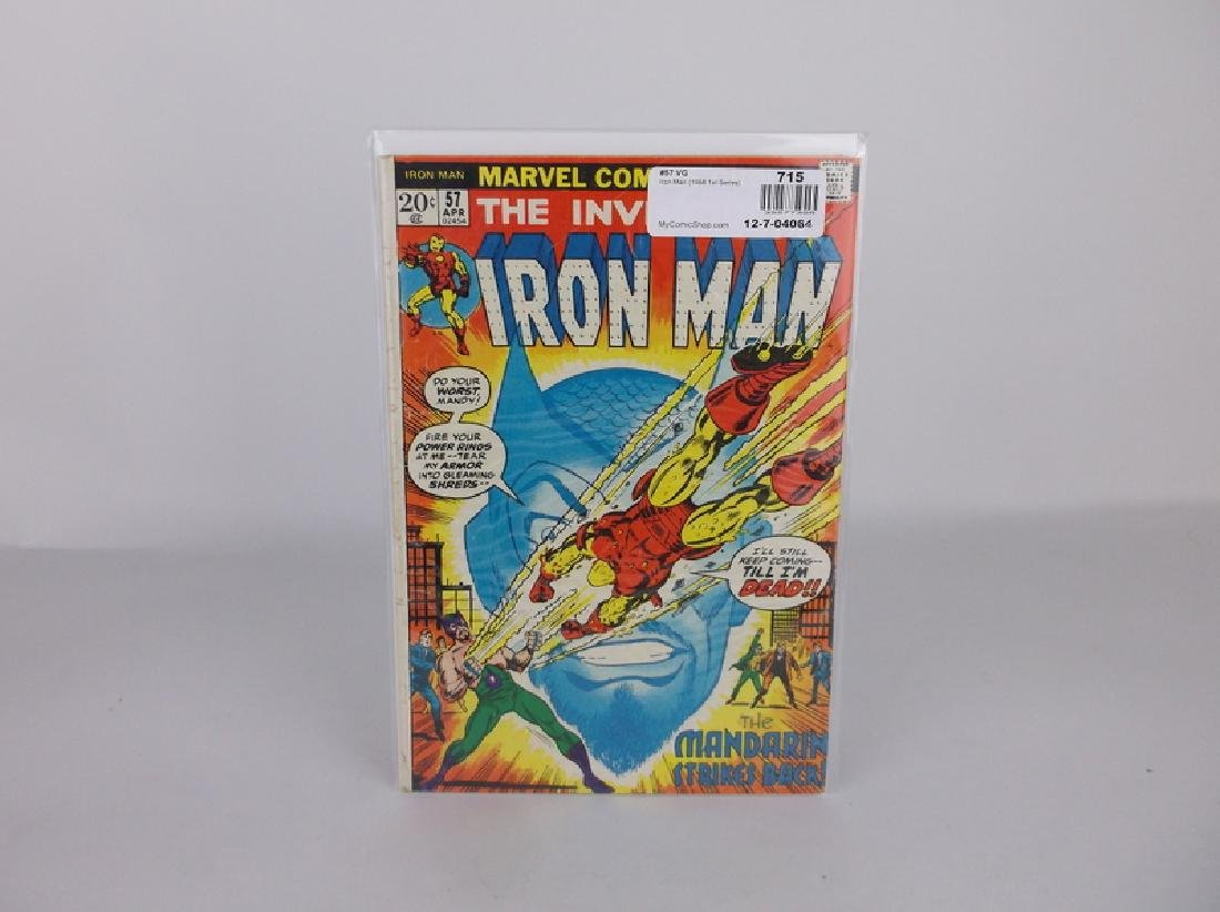 1968 Iron Man Comic Book #57 Marvel