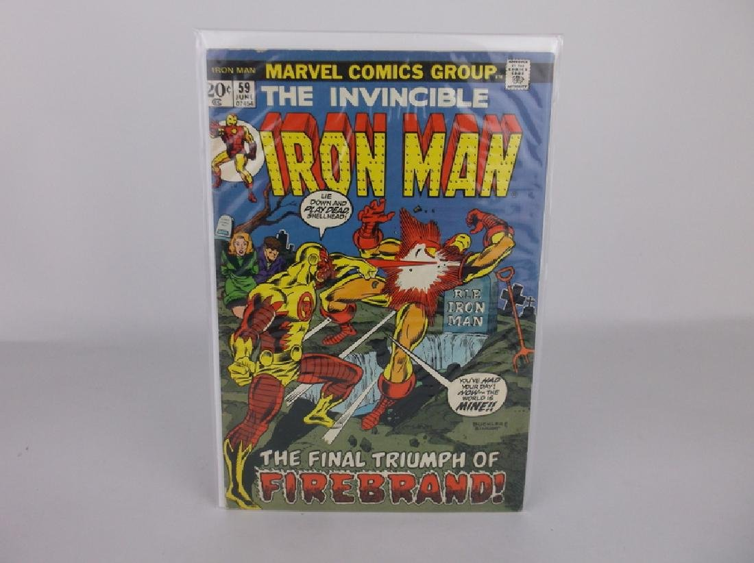 1968 Iron Man Comic Book #59 Marvel
