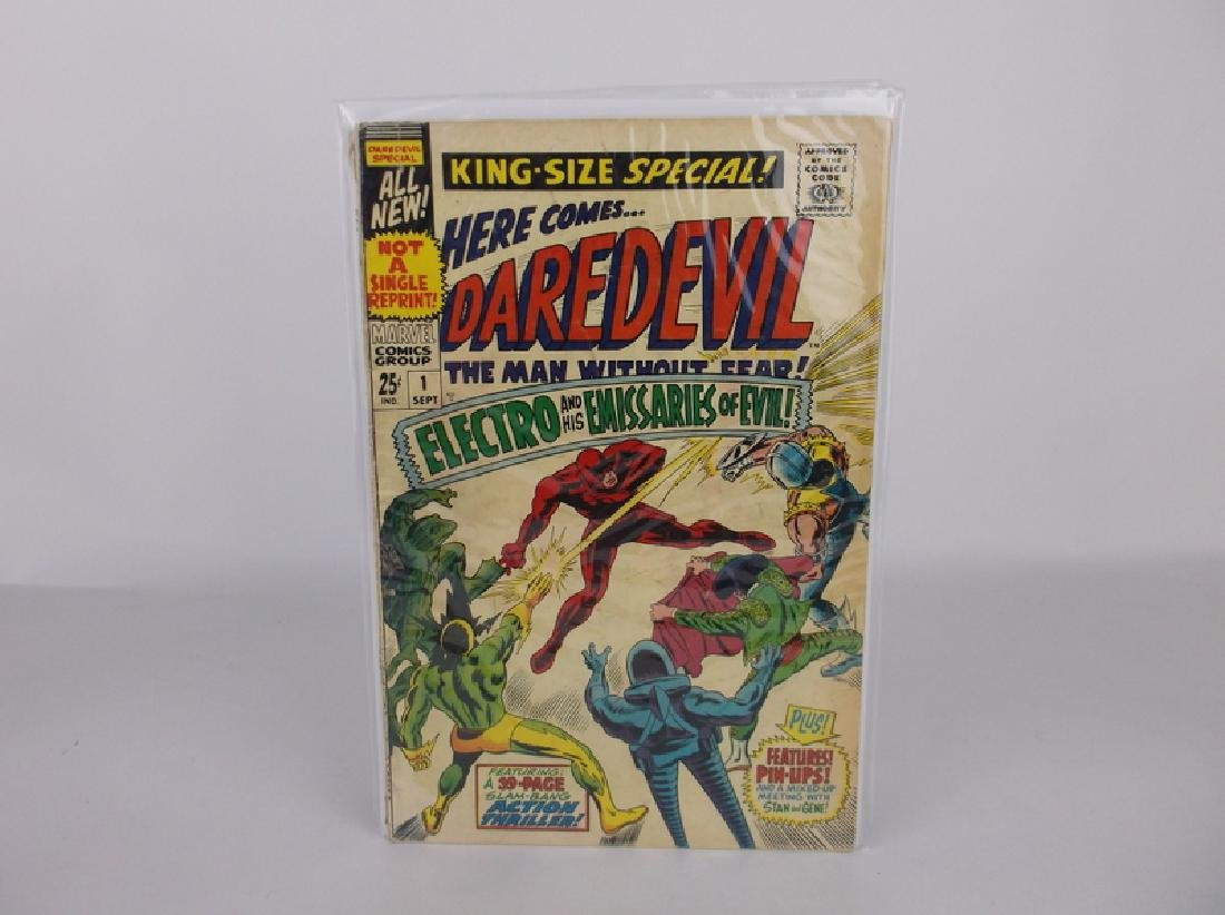 1967 Daredevil Comic Book #1 Marvel