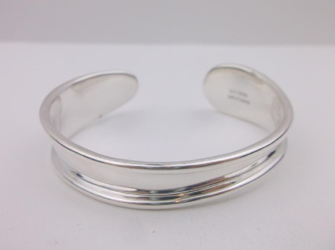 Robert Lee Morris Sterling Cuff Bracelet Heavy