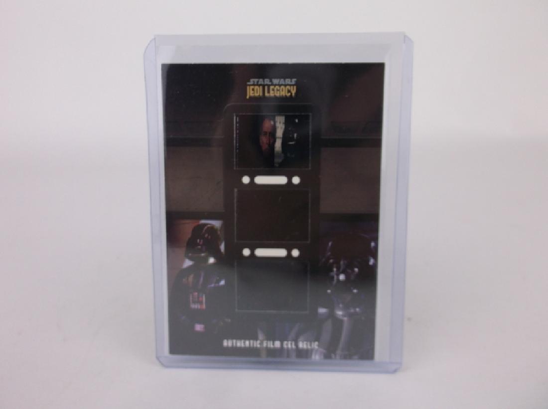 Topps Triple Star Wars Film Cel Relic Card Mint