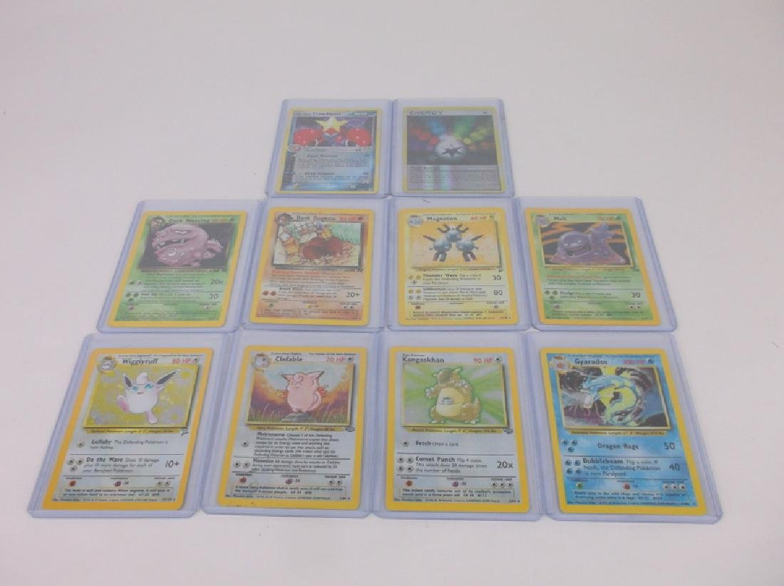 10 Vintage Pokémon Rare Holo Holofoil Cards