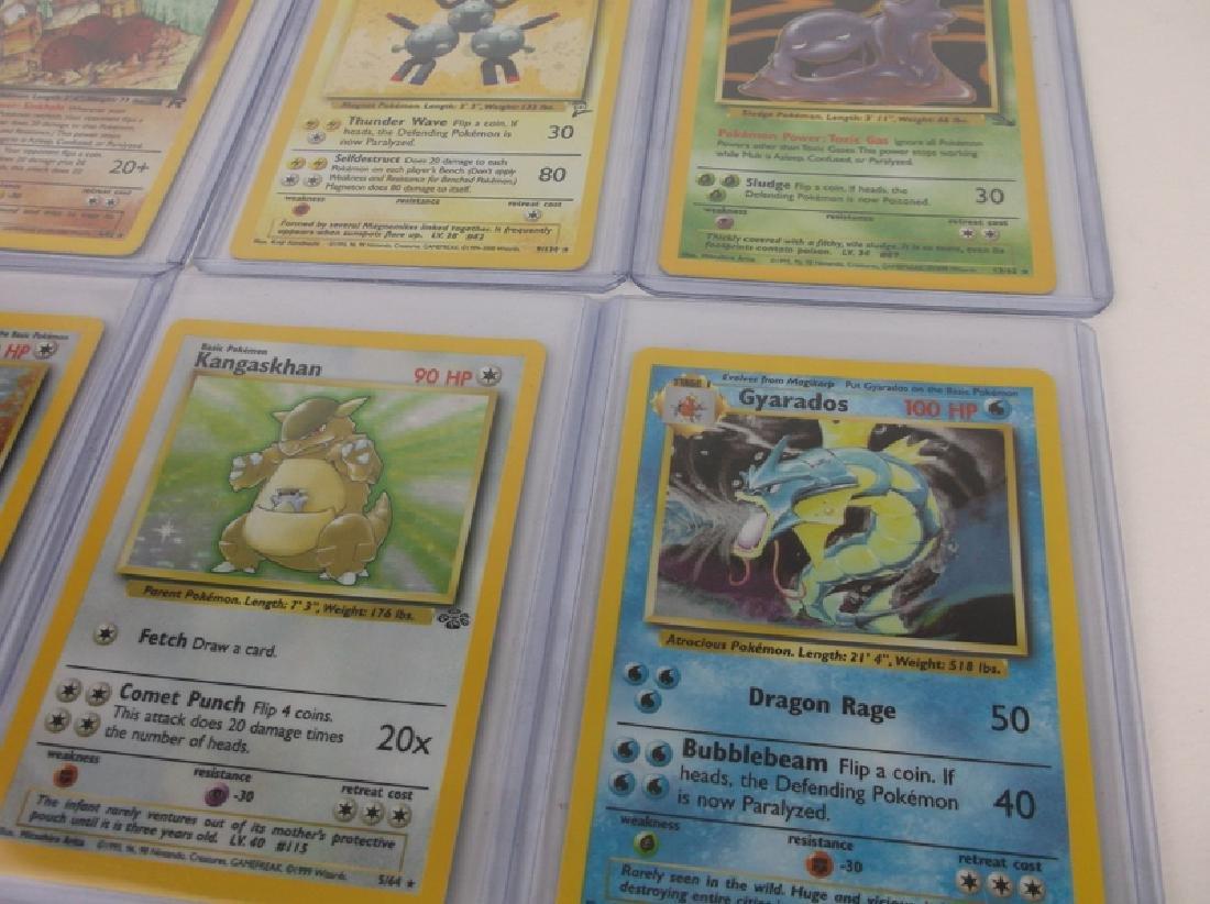 10 Vintage Pokémon Rare Holo Holofoil Cards - 2
