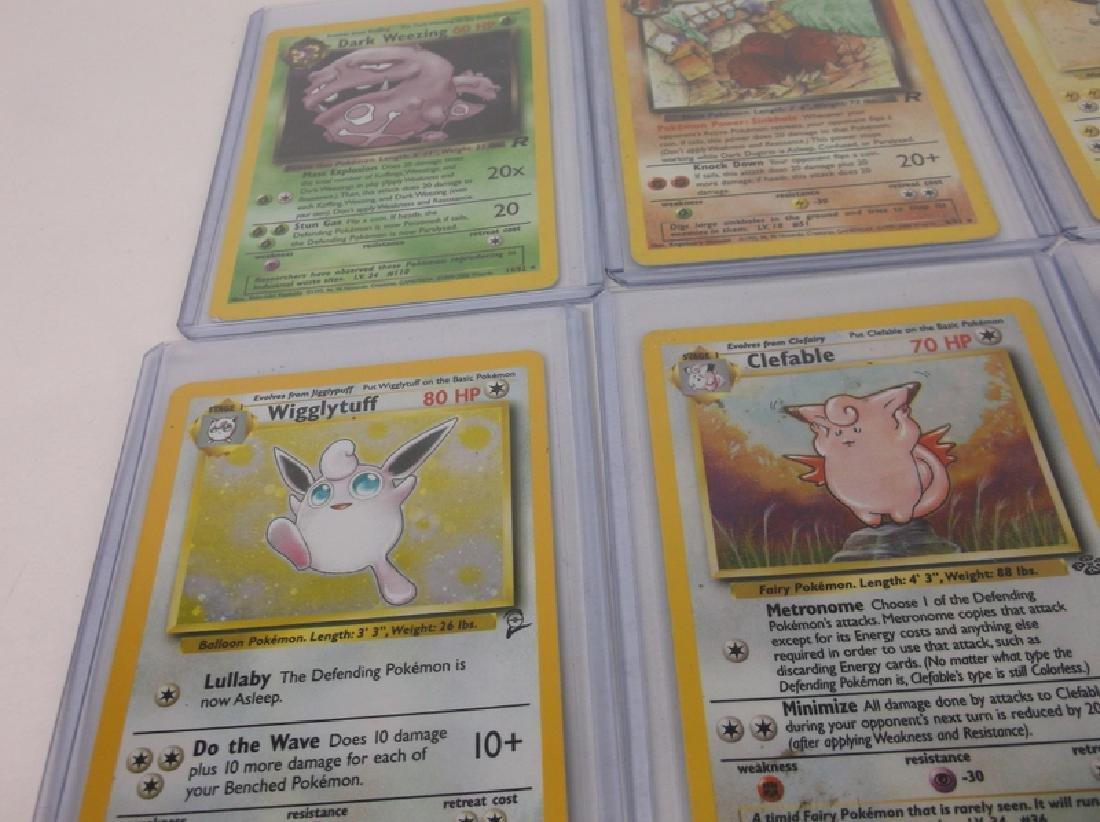 10 Vintage Pokémon Rare Holo Holofoil Cards - 3