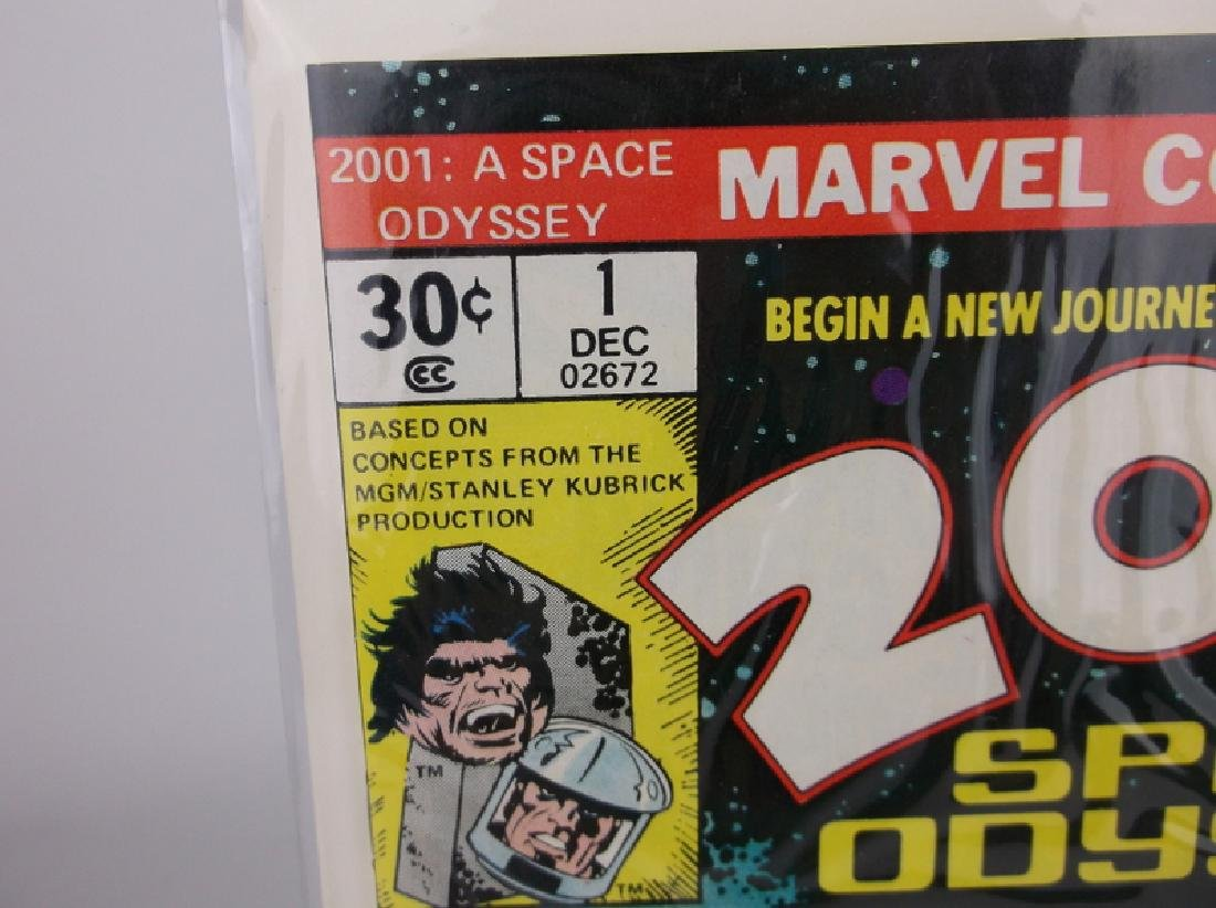 Mint 1976 2001 Space Odyssey Comic Book #1 - 2